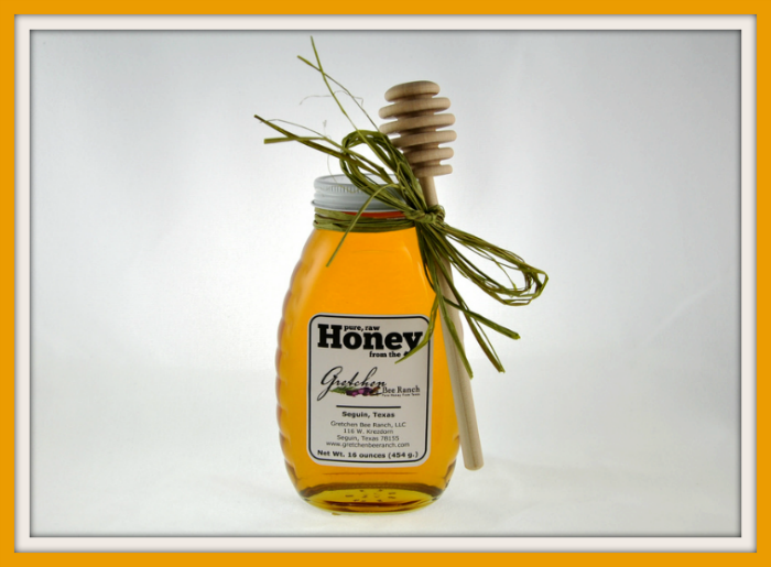 healthy raw honey