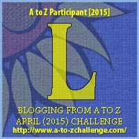 "A to Z Challenge Badge ""L"""