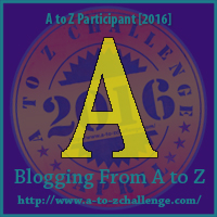 A to Z Challenge Badge